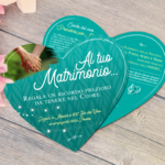 Inviti matrimonio a cuore